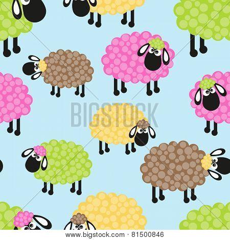 Sheep Seamless