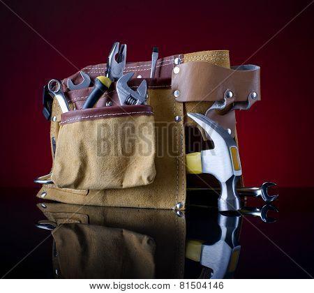Tool Belt And Hammer