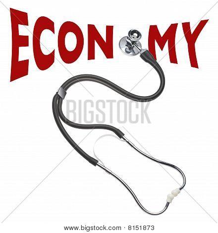 Checking economy's health