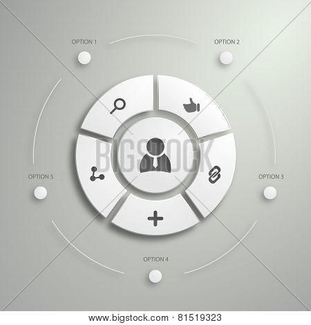 Flat Mobile UI Design.