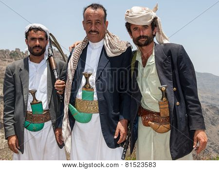 Armed Men In Yemen