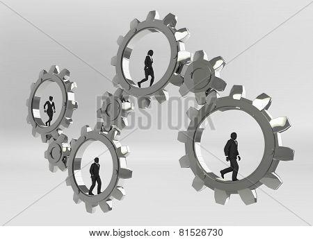 Gears of teamwork