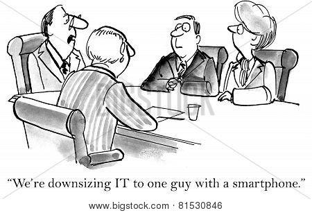 Downsizing Information Technology
