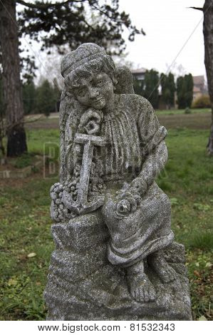 Angel On A Cemetery