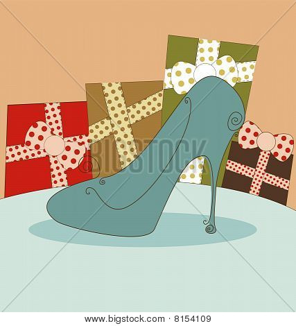 Shoe Fashion Background