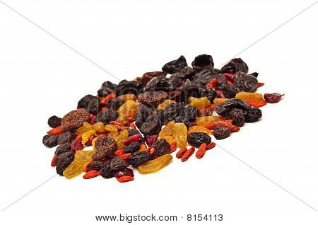 Mix Of Various Dried Fruits