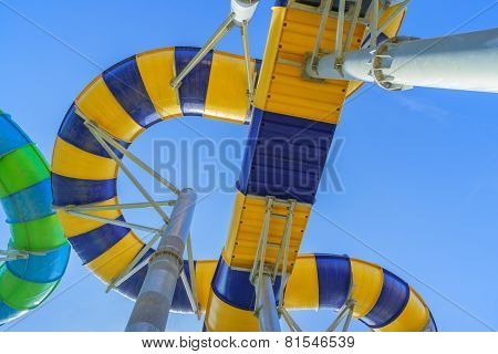 Huge and Exciting Water Slides