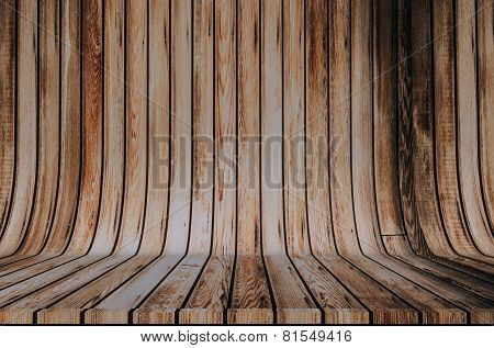 Wood Cyclorama Backdrop
