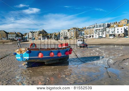 The Seafront At St Ives