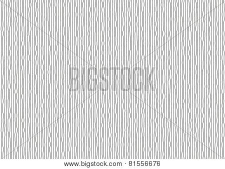 Vibrating Black Vertical Lines On White Background