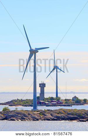 Offshore Power Generators.