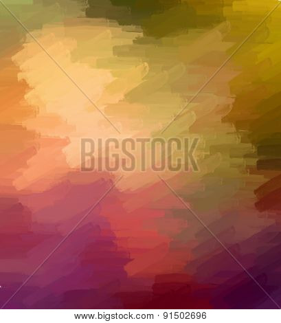 Colorful Textured Background - Abstract Digital Painting