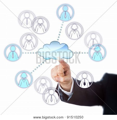 Contacting Female And Male Workers Via The Cloud