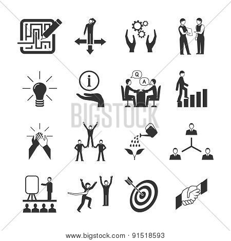 Mentoring Icons Set