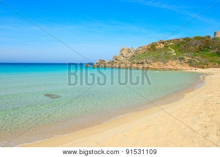Rena Bianca Beach On A Clear Day