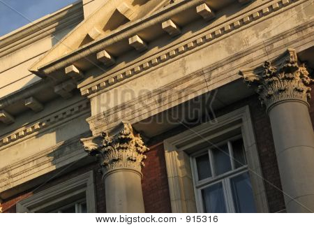 Neoclassical Building FaçAde