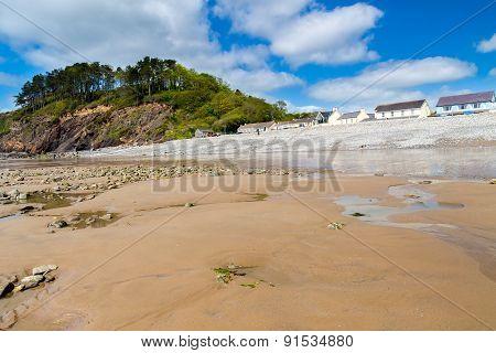 Amroth Beach Pembrokeshire Wales