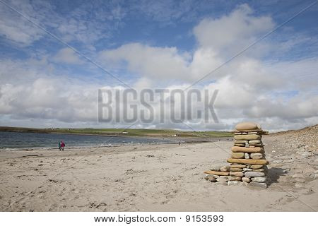 Bay of Skaill Beach in Orkney