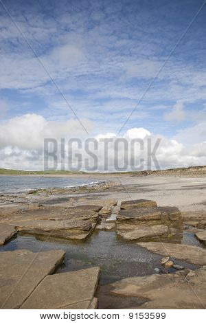 Rock Pool on Bay of Skaill Beach