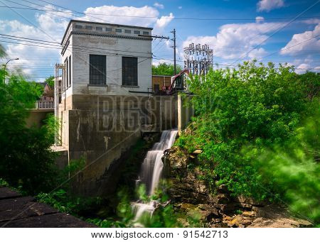 Old Hydro-electric Power Generating Station