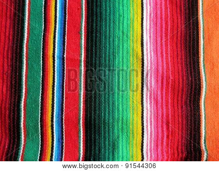 Mexico Fiesta poncho serape background