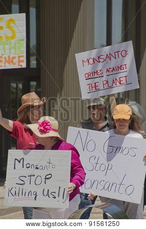 Monsanto Protest Signs