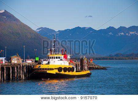 Tug Boat At Rest