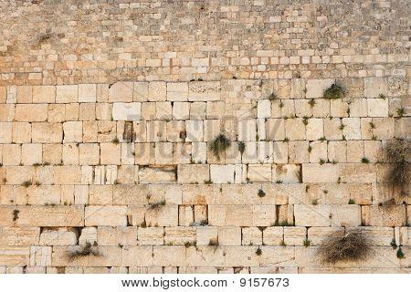 Klagemauer in Jerusalem Textur (westliche Wand)