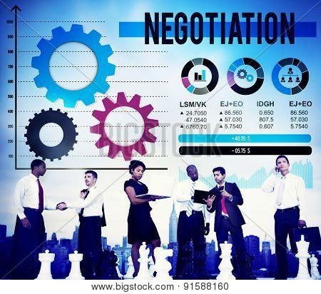 Negotiation Compromise Decision Contract Benefit Concept