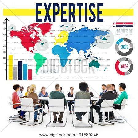Expertise Insight Knowledge Perfection Expert Concept