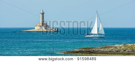Porer Lighthouse - Croatia, Istria, Kamenjak