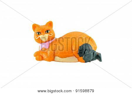 Puss In Boots The  Fat Orange Cat Figure Toy