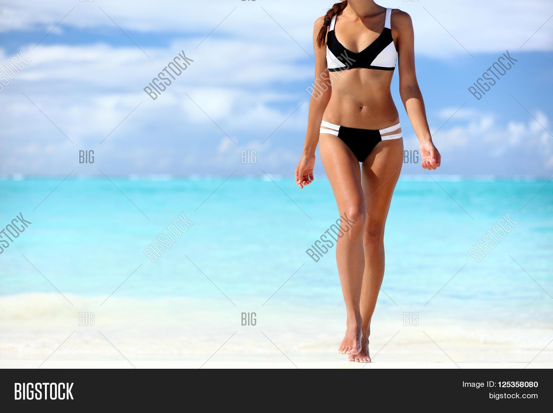 Long bikini legs charming