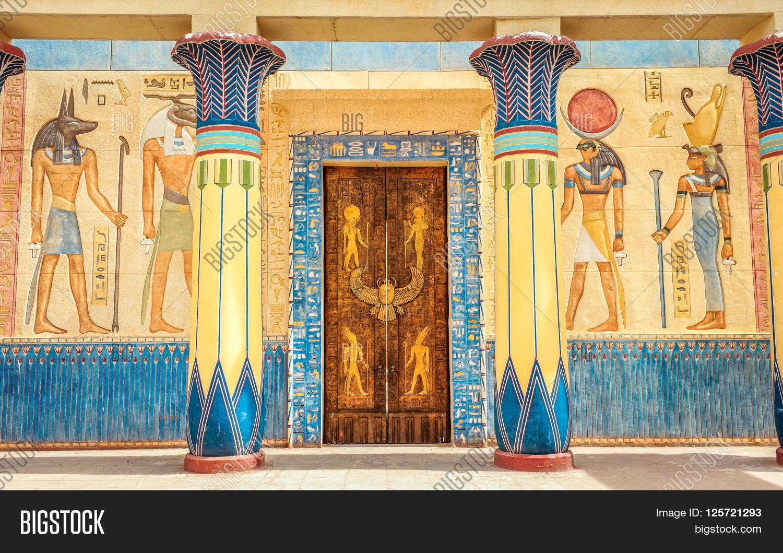Ancient Egyptian Writing On Wall Image & Photo | Bigstock