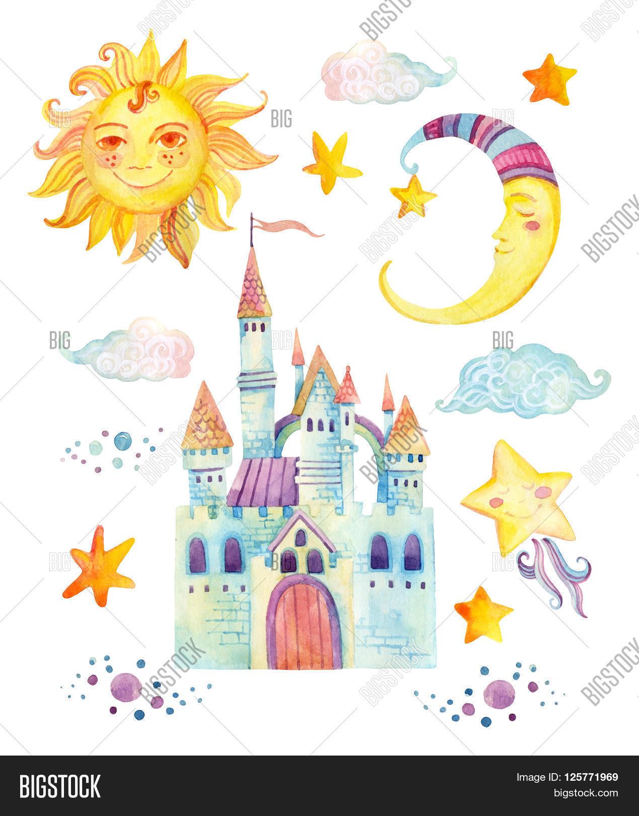 Watercolor Fairy Tale Image Photo Free Trial Bigstock