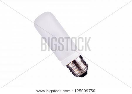 E27 Strobes light bulb isolated on white background