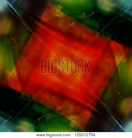 red square abstract