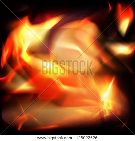 fire abstract background for decorate your style
