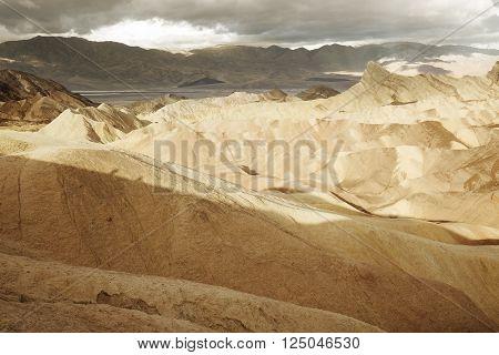 Zabriskie Point Death Valley National Park California