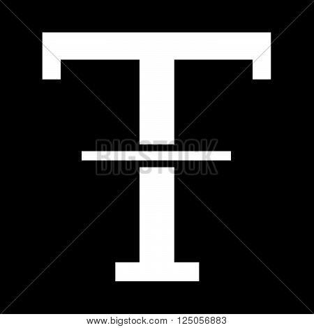 an image of Text Strikethrough edit icon Illustration design