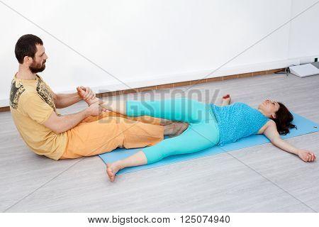 Pair Exercises. Stretching
