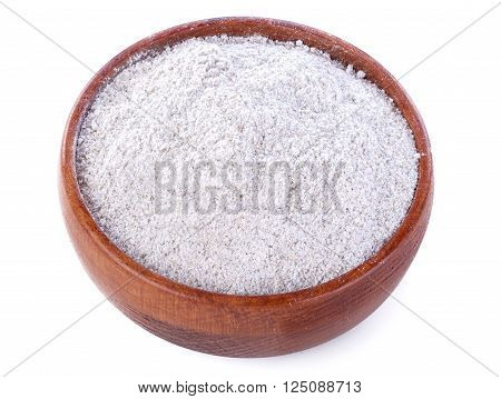 Bowl with flour made up of whole grain cereals (Multi grain)