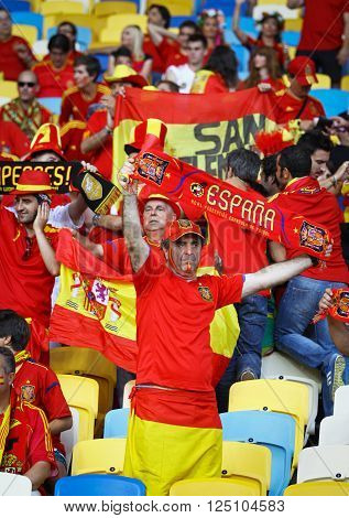 Spain National Football Team Supporters