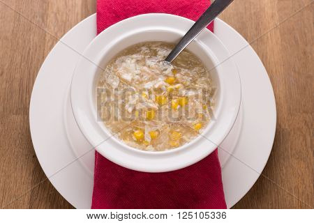 Chicken Sweetcorn Soup