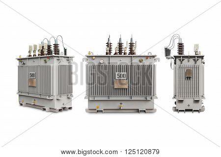 500 Kva N2 Gas Sealed Transformer