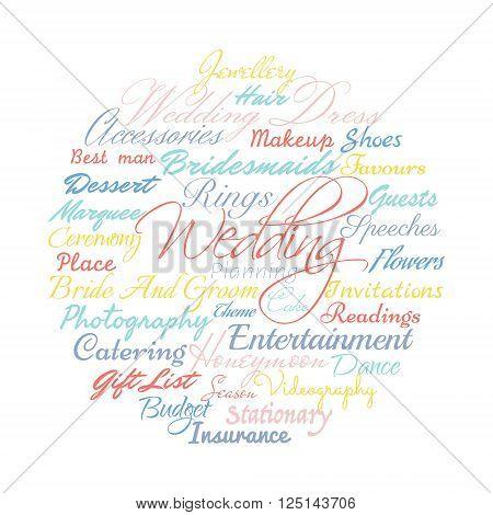 wedding planning vector photo free trial bigstock