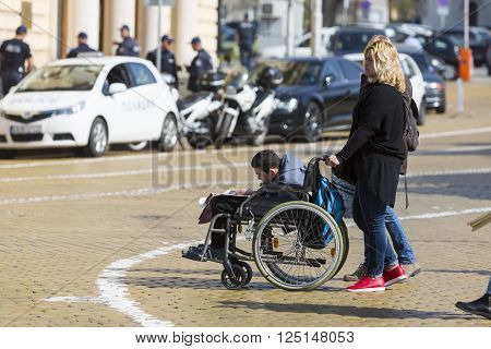 Physically And Mentally Disabled People