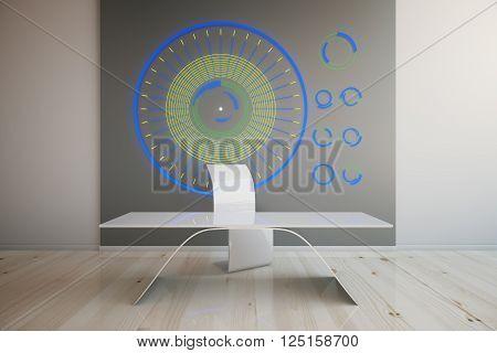 Futuristic Interior Light