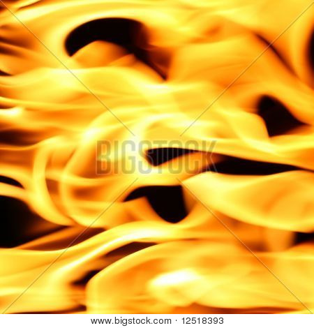 fire flame close up