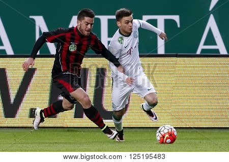 Ferencvaros - Budapest Honved Otp Bank League Football Match